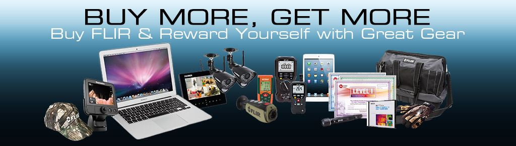 Purchase A Flir Infrared Camera And Receive FREE Gear!