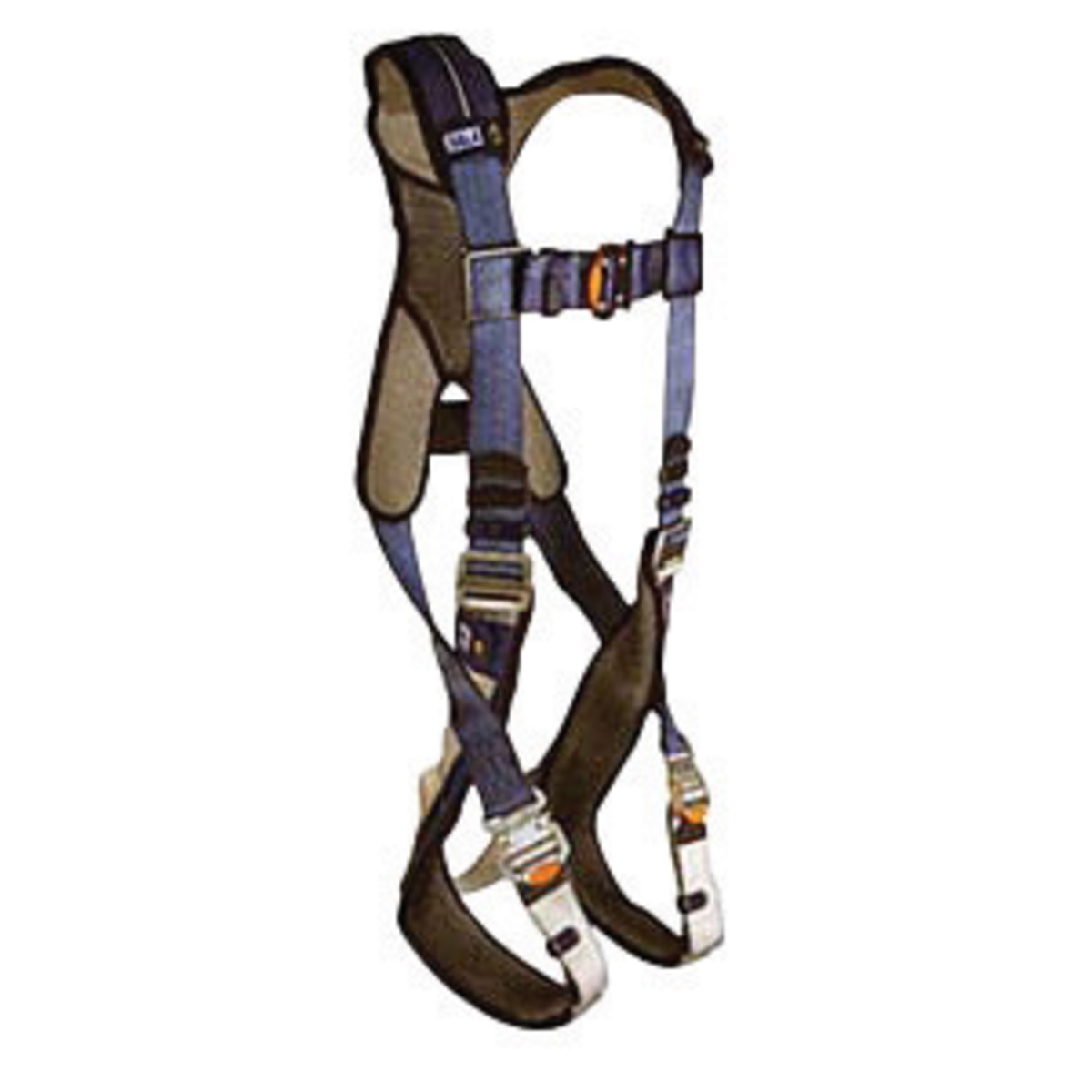 DBI/SALA 1110077 Large ExoFit XP Standard Vest Style Harness With Back,  Front, Hip And Shoulder D-Rings, Quick Connect Buckles And Loops For Belt
