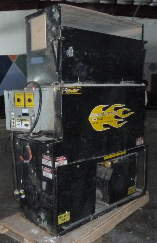 used cool machines cm 2400 insulation blowing machine