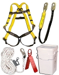 3M Safewaze 20058 Roofing Kit Fall Protection Roof Fall Safety