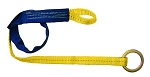 FallTech 7472 Concrete 6' Web Strap Anchor with Jacket Loop and O-ring
