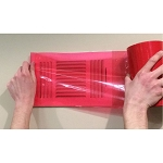 "Nikro 861432 Duct Mask 8"" x 200' Roll (Red)"