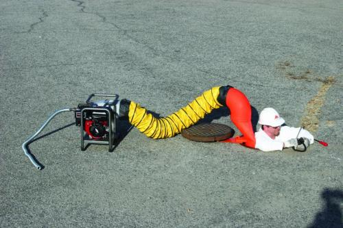 Confined Space Ventilation : Air systems international svb e two speed confined
