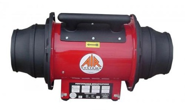 Explosion Proof Fan >> Air Systems International Svf 10exp In Line Explosion Proof Axial Fan