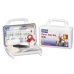 019700-0001L - Plastic Bulk First Aid Kit, 10 Person