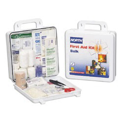 019704-0003L - Plastic Bulk First Aid Kit, 50 Person