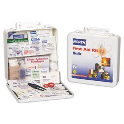 019705-0003L - Bulk First Aid Kit, 50 Person, Metal