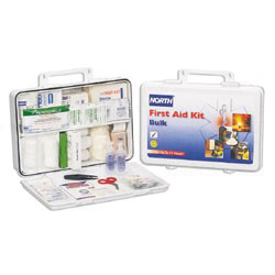 019706-0004L - Plastic Bulk First Aid Kit, 75 Person