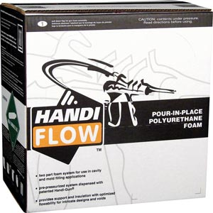 Handi-Flow Polyurethane Pour In Place Foam Insulation