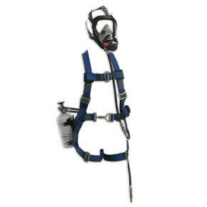 Pressure Demand SAR with Escape Cylinder and Class 3 Miller Fall Protection Harness (NIOSH)