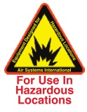 Air Systems International Hazardous Location Auto Air Permanent Mount BB100-HTAAP Grade D Air Filtration System