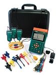 Extech PQ3350-1 NIST PQ 3350 1 3 Phase Power Quality Analyzer 1200 Amp