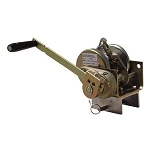 Falltech 7295 120' Confined Space Safety Winch with Galvanized Steel Cable