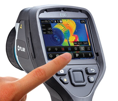 Flir E40-Kit-15 Has A Simple Touchscreen Interface Anyone Can Use