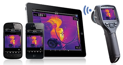 Flir E40 Kit 45 Features FLIR Tool Mobile Communication & WiFi