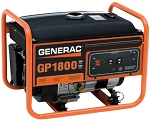 Generac GP1800 GP 1800 5981 Portable Power Generator 1.8 kW 49 State