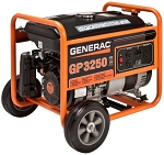 Generac GP3250 GP 3250 5982 Portable Power Generator 3.25 kW 49 State