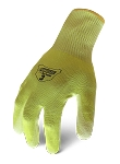 Ironclad IKC3-HSY-04-L Knit Cut 3 Hi-Viz Yellow, Large
