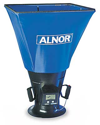 Alnor 6200D Loflo Balometer Flow Capture Hood