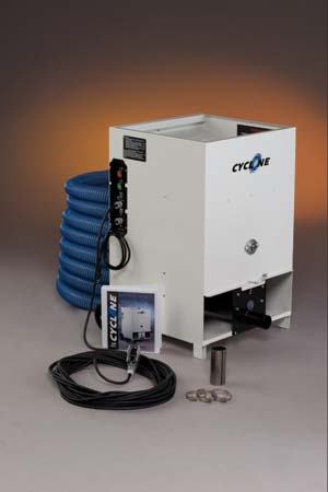 Intec Cyclone Cellulose and Fiberglass Insulation Blowing Machine (with accessories and dual blower)