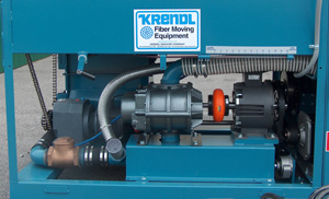 Krendl 5200D 25 Hp Diesel W/ P.D. Blower And 5 KW Generator