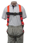SafeWaze 1050 Fall Protection Feather Harness Tangle-Free Series, Grommet Legs