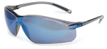Honeywell Sperian A753 A 753 Slim Protective Safety Glasses Blue Mirror Lens