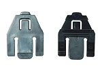 MSA 10117496 V-Gard Accessory Slot Adapters Replacement, 2 pairs, Black