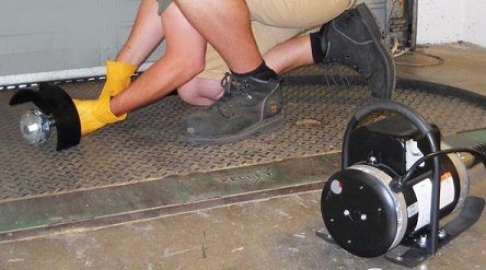 Novatek MFS110 Deck Scaler Makes Surface Prep Easy By Rapidly Removing Rust And Other Deposits