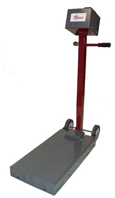 floor tile removal machine
