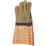 Salisbury Honeywell 156-6 Leather Protector Glove Import Cowhide 14 Inch