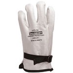 Salisbury Honeywell ILPG10A Leather Protector Glove Import Goatskin 10 Inch With Pull Strap