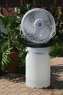 Schaefer PVM18 VersaMist Portable Misting Fan 18 Inch Cooler