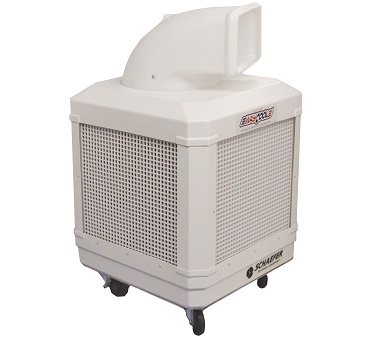 schaefer waycool wc13hpaosc portable evaporative air cooler