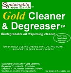 Green Earth Biodegradable Oil Dispersing Gold Cleaner & Degreaser 32oz