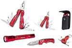 Snap On 870970 5 Piece Multi Tool Set With Flashlight & Knife
