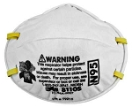 3M Particulate Respirator 8110S, N95, 20/PK
