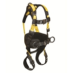 Falltech 7035BL Journeyman FLEX Aluminum 3 D-rings Harness
