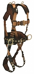 Falltech 7081LXRD COMFORTECH Retrieval, Belted 5 D-rings Harness