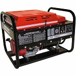 Gillette GEN-PRO GPE-75EH-3-4 Generator (13 HP, 3 Phase, 6000 Max Watts, 480 Volts, Honda Engine, Electric Start)