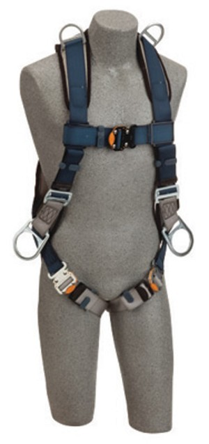 DBI/SALA 1109228 Small Exofit Positioning/Retrieval Full Body/Vest StyleHarness With Back, Side And Shoulder D-Rings, Quick Connect Buckles And Loops For Belt