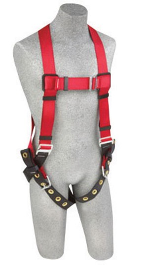 DBI/SALA 1191237H Medium/Large Protecta PRO Vest Style Harness With Back D-Ring And Tongue Buckle Leg Strap