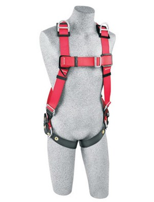DBI/SALA 1191240 Small Protecta PRO Full Body/Vest Style Harness With Back And Shoulder D-Ring And Tongue Leg Strap Buckle