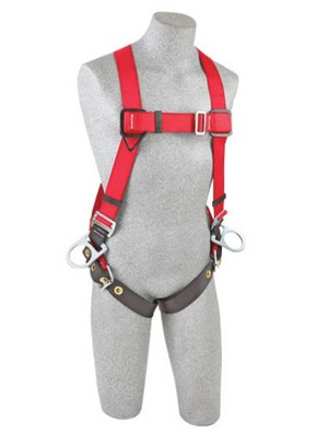 DBI/SALA 1191247 X-Large Protecta PRO Full Body/Vest Style Harness With Back And Side D-Ring And Tongue Leg Strap Buckle