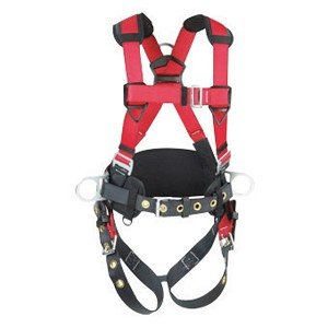 DBI/SALA 1191299 Protecta Construction Style Harness With (3) D-Ring, Back  Pad And Belt