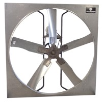 SCHAEFER 545GP112-3V Galvanized Panel Fans - Belt Drive