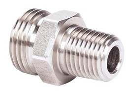 "MSA 808358 Union Adapter 1/4"" NPT x 3/4"" UNF, Snap-Tite (SST)"