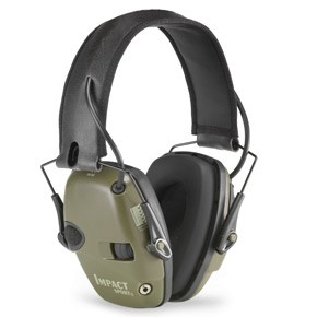 Impact Sport Sound Amplification Earmuff