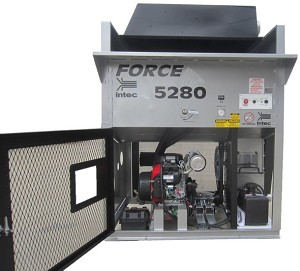 Intec Force 5280 Gas Powered Insulation Blowing Machine