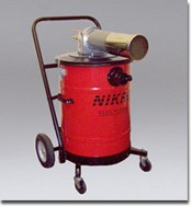 NIKRO AHD15150 AHD 15150 15 Gallon Compressed Air Powered HEPA Vacuum Cleaner